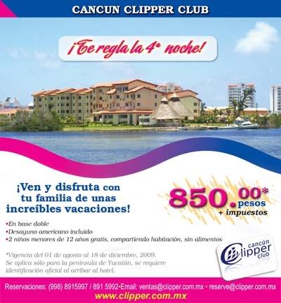 Cancun Clipper Club Precio