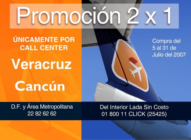 Pasajes de avion Cancun Veracruz oferta