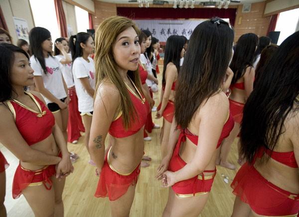 beijing 2008 porristas chherleeders