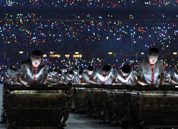 beijing 2008 tambores