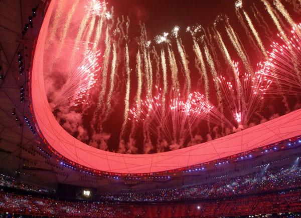 beijing 2008 fuegos artificiales