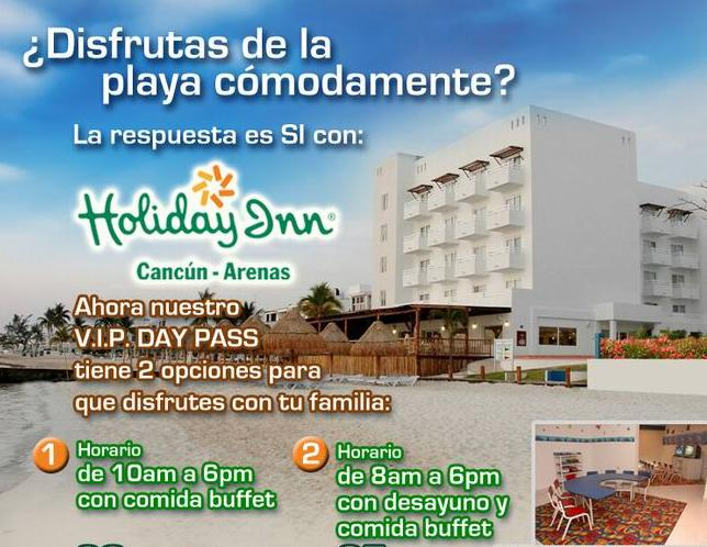 holiday Inn arecas cancun