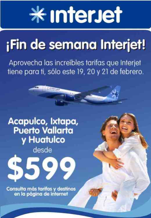 Promocion Interjet Boletos de Avion