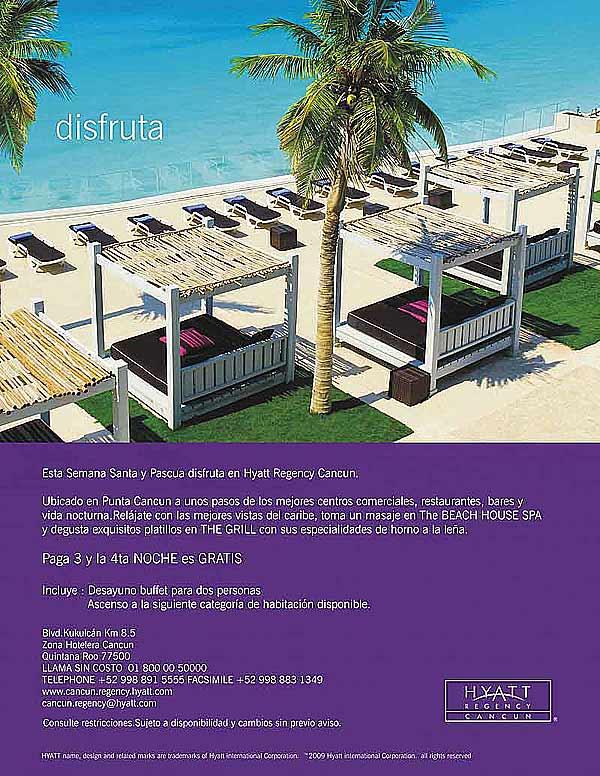 Promocion Hotel Hyatt Cancun