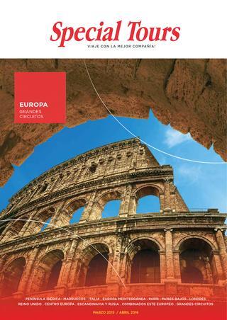 Catalogos de Viajes Europa
